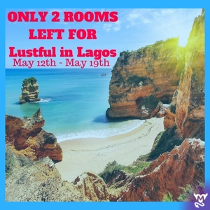 Only two rooms / two couple spots left for our Lustful In Lagos, Portugal Event